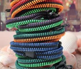 2 colorful bracelets..
